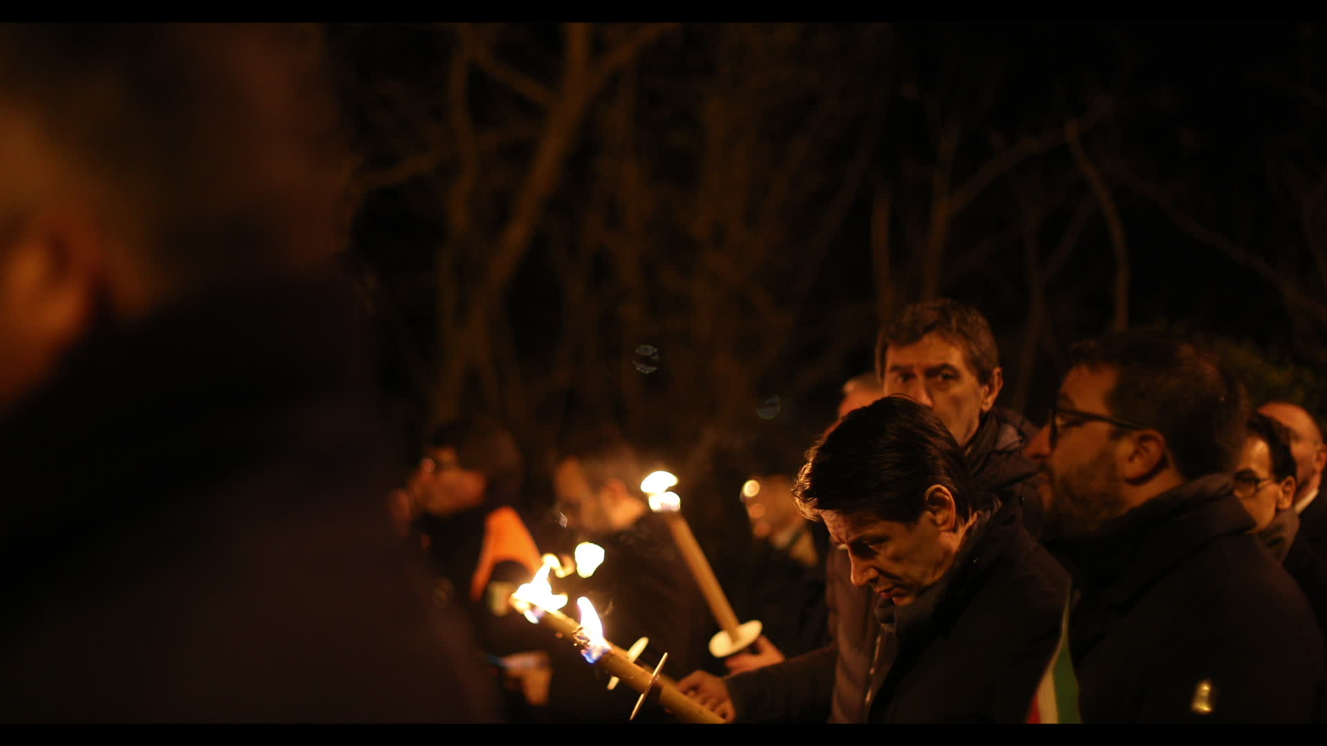 Candle Rally To Commemorate The Tenth Anniversary of 2009 L'Aquila Earthquake