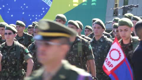 Army Day In Sao Paulo