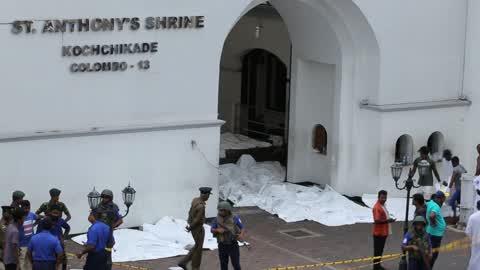 Multiple Bomb Blasts On Easter Sunday In Sri Lanka