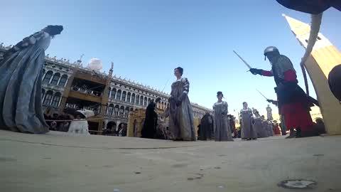 Venice Carnival 2017 - Il Volo Dell'Angelo (Flight of the Angel)