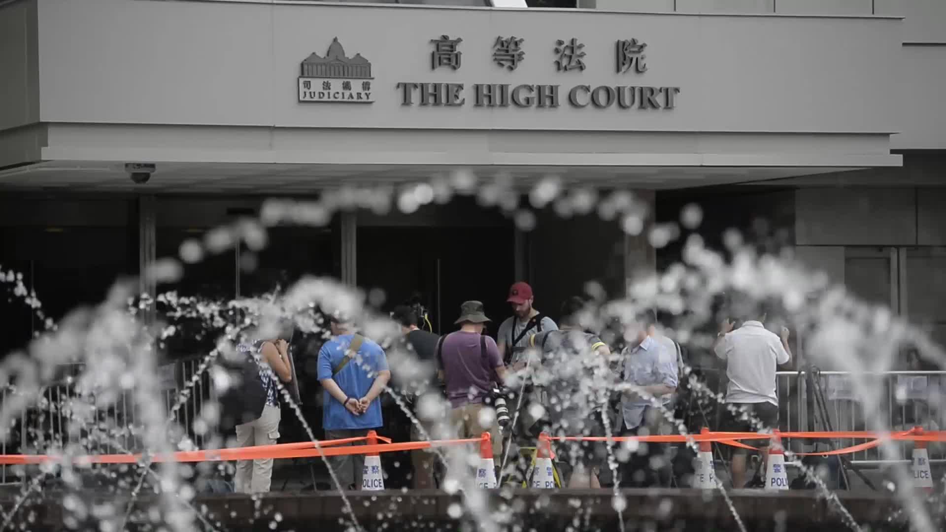 Hong Kong Joshua Wong Appeal Verdict on Occupy Mong Kok Case