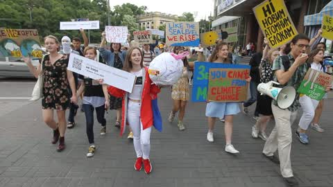 Global Strike For Future in Kiev