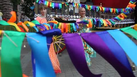 Ratha Yatra Carnival of Chariots in Kiev