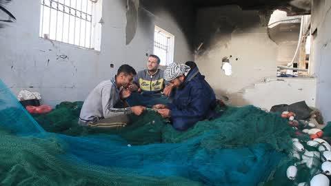 Palestine Fishermen In Gaza
