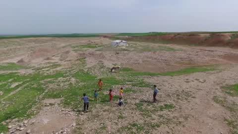 Refugee Camp Near Mosul