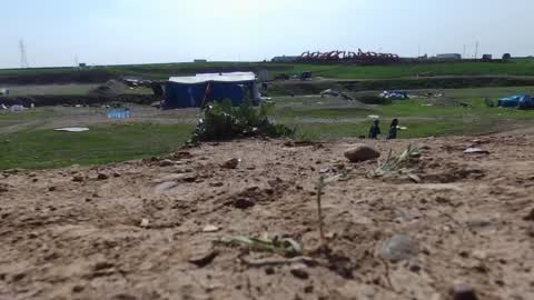 Refugee Camp Near Mosul