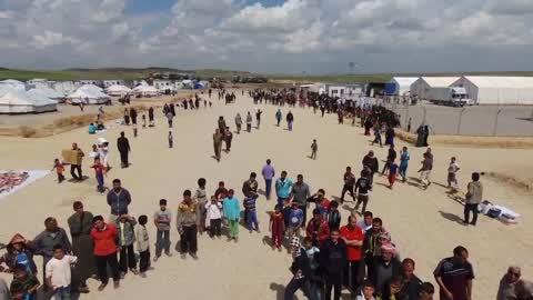 Chamakor Kamp Near Mosul