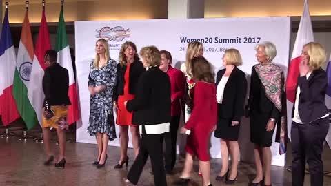 Ivanka Trump In Berlin