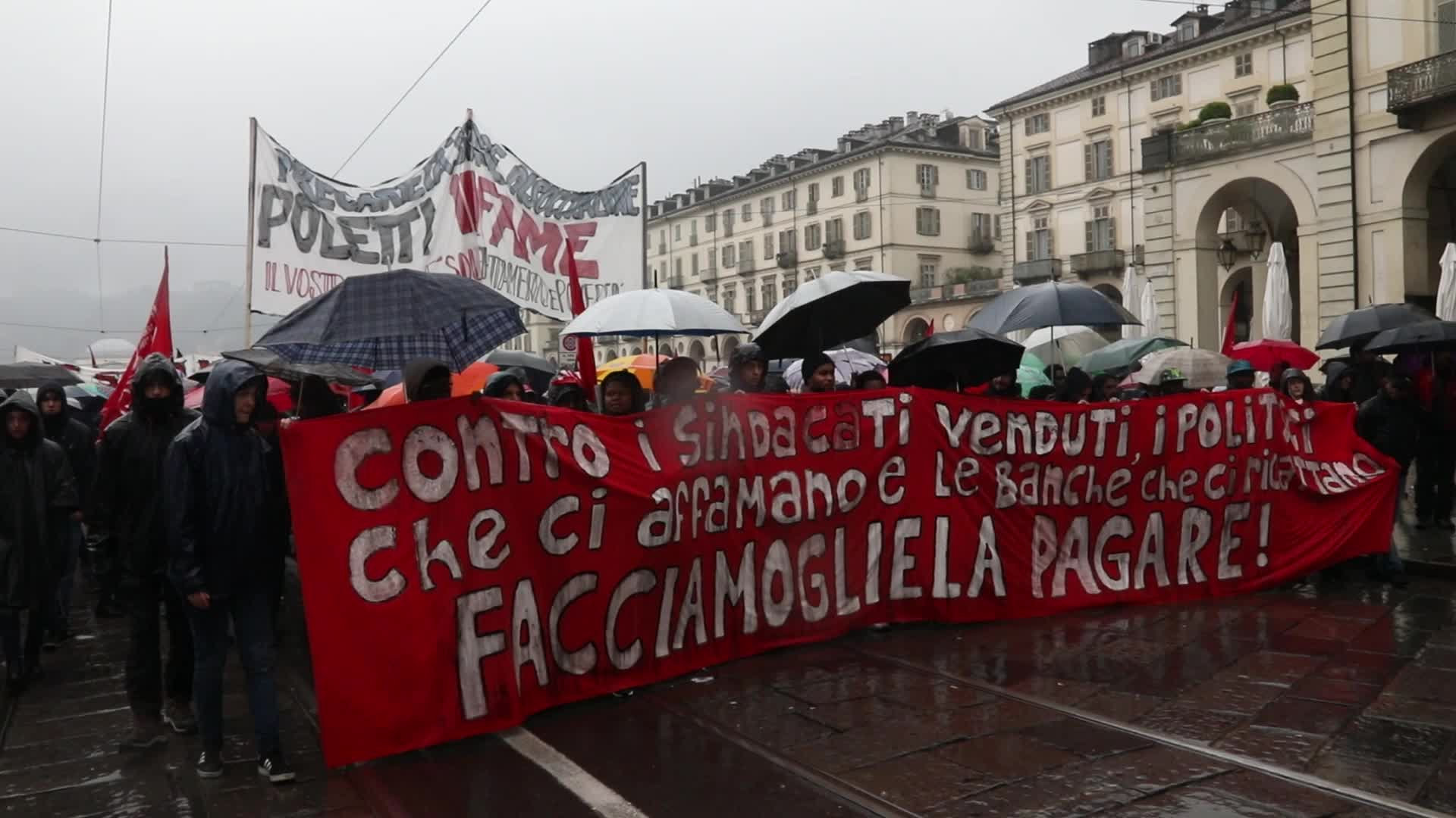May Day Turns Violent In Turin