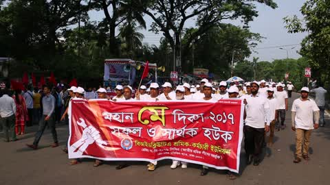 1st May Day Rally In Dhaka