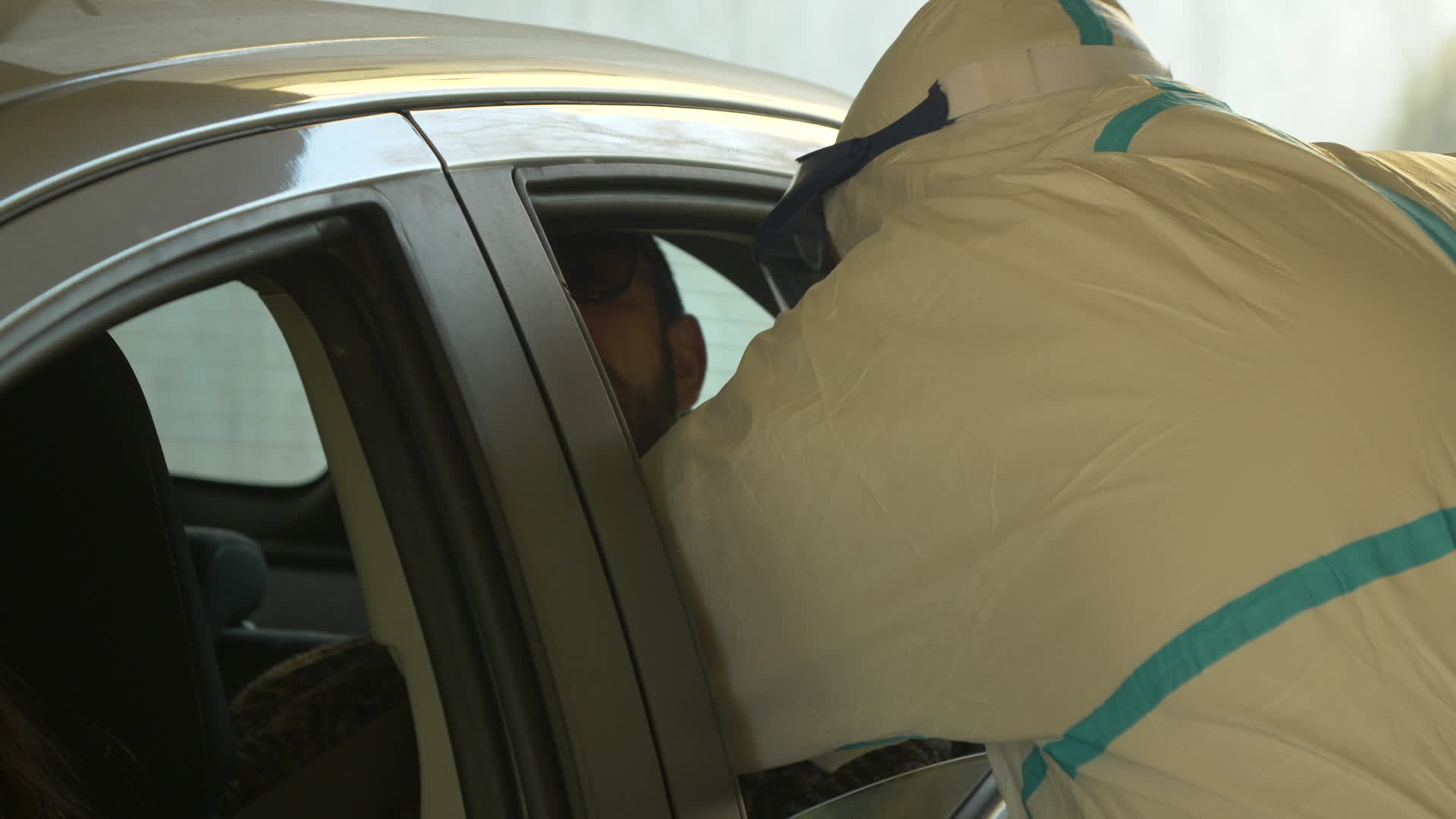 In Bologna Fastest Coronavirus Test, Inside Your Car