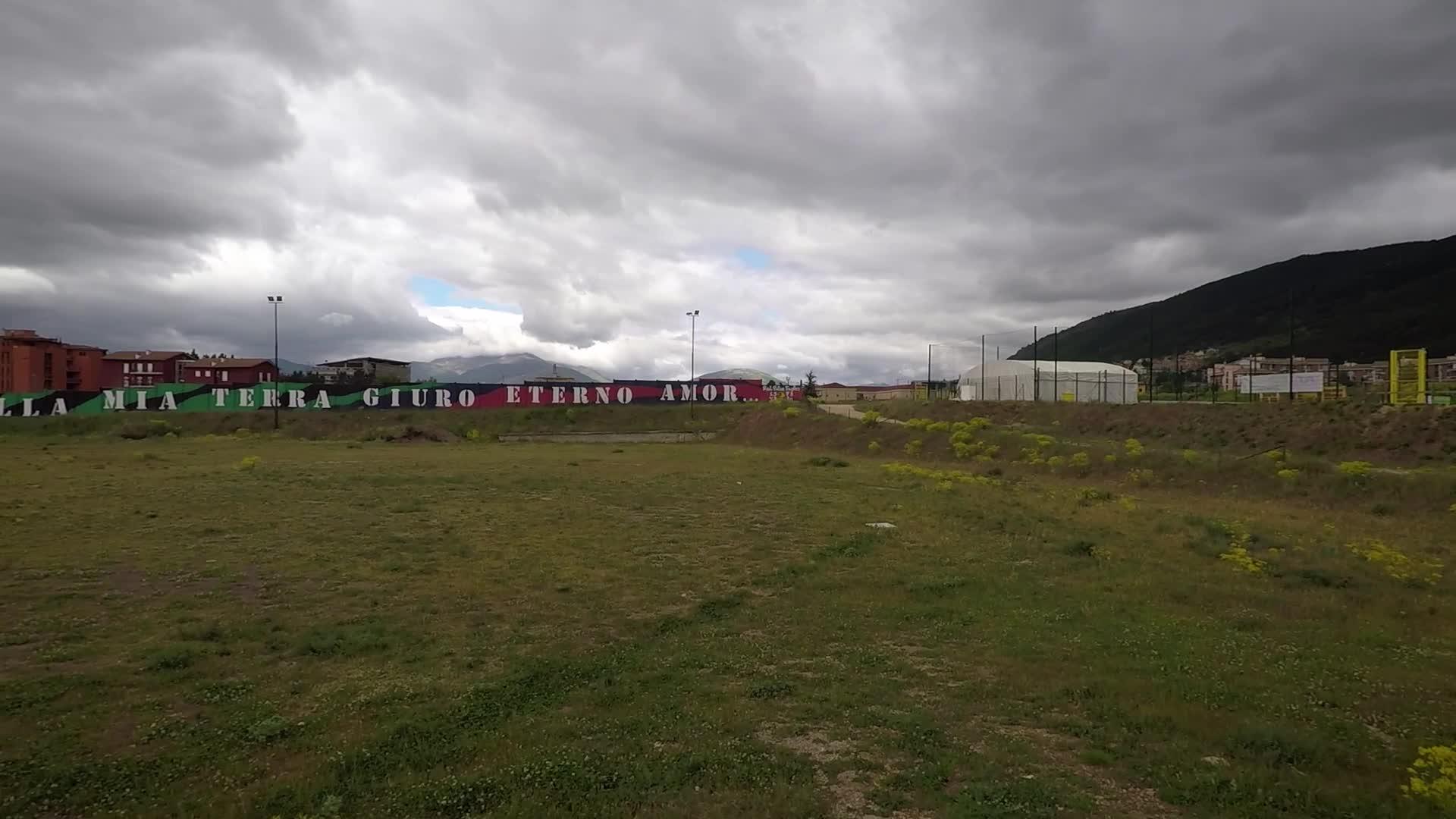 Drone View - L'Aquila City