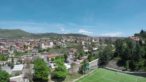 Drone View Of L'Aquila