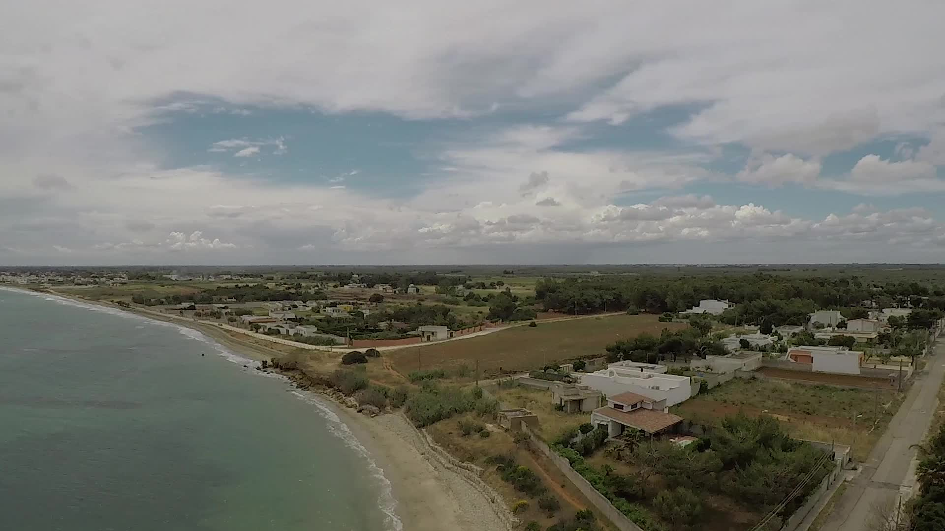 Drone images of Torre San Gennaro Beach