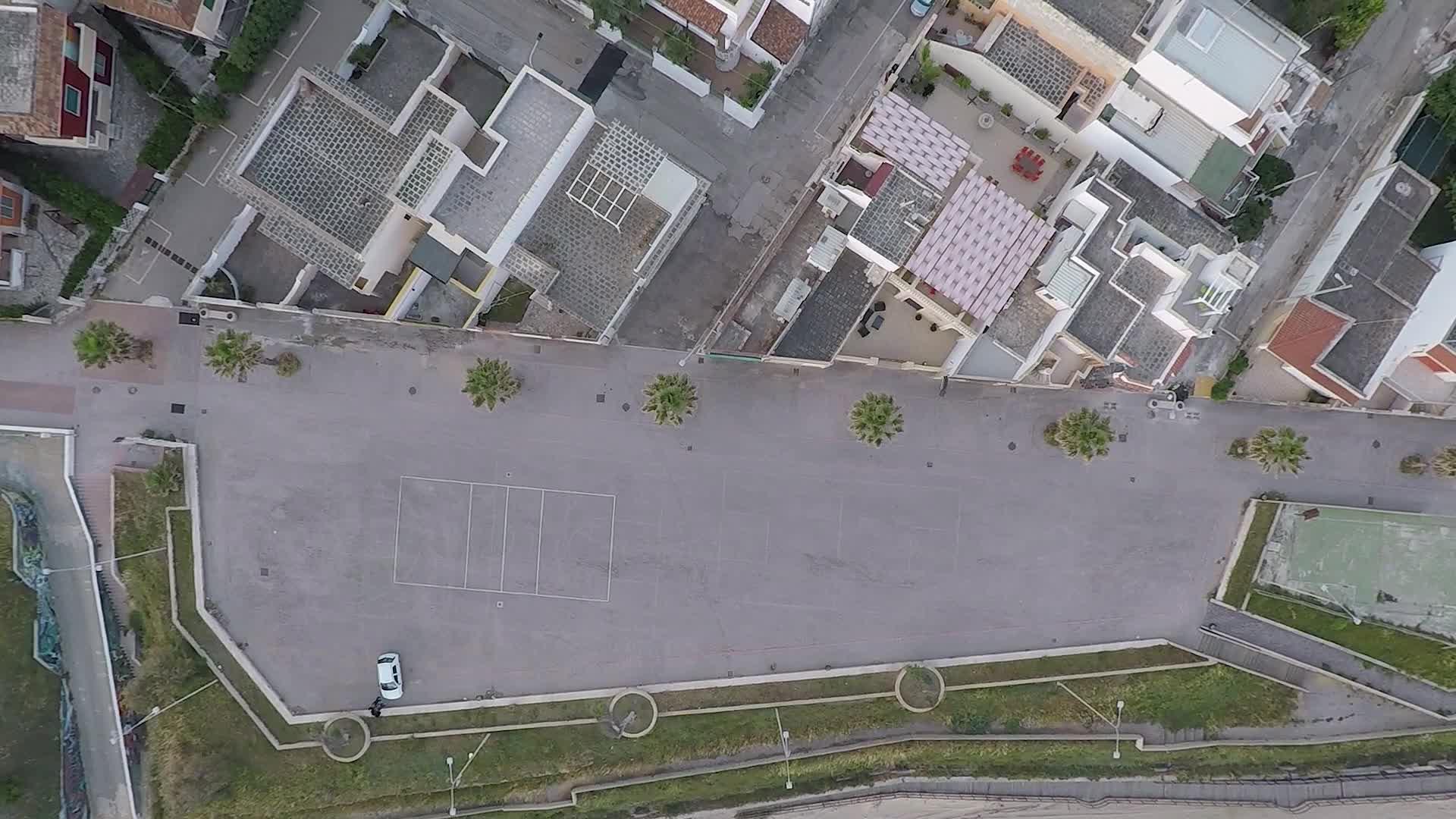 Drone images of Campo Di Mare Beach