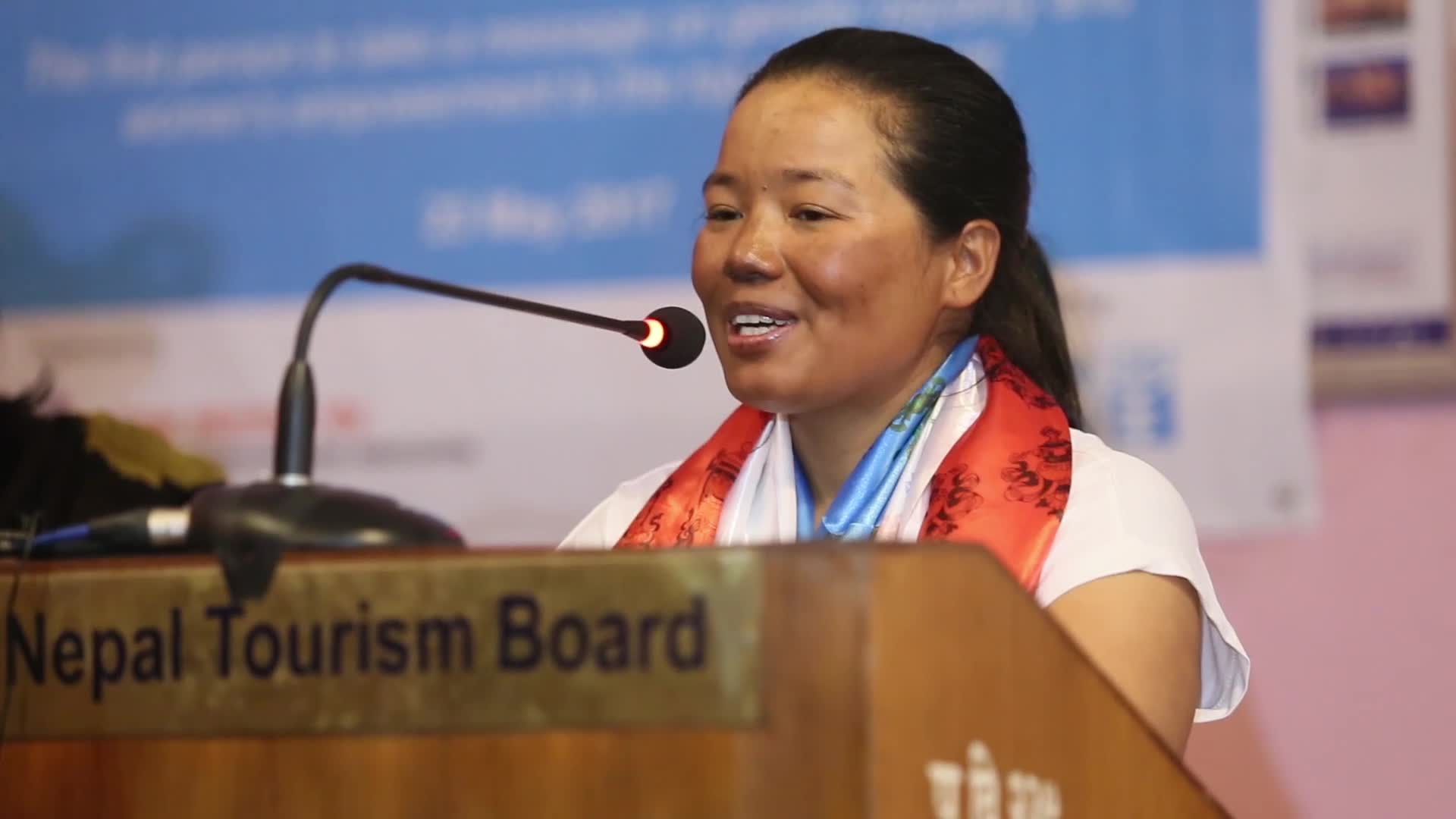 Kanchhi Maya Tamang climed the Mt Everest for women empowerment and gender equality
