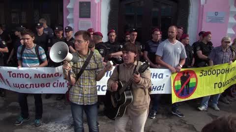 Kiev Pride 2017 Gay Parade in Kiev