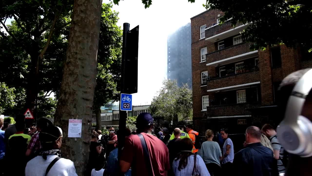 Dozens Remain Unaccounted For Following Grenfell Tower Fire In London
