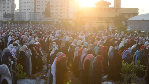 Eid al-Fitr celebrations In Gaza