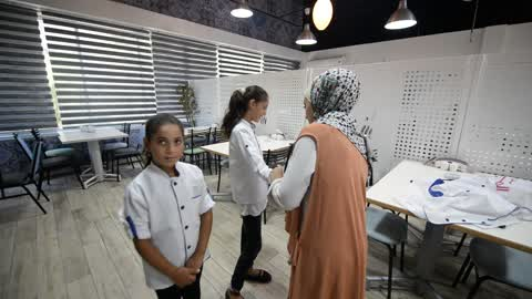 Cook Training In Palestine