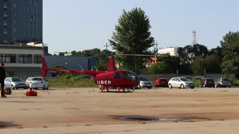 Uber Chopper in Gdynia, Poland