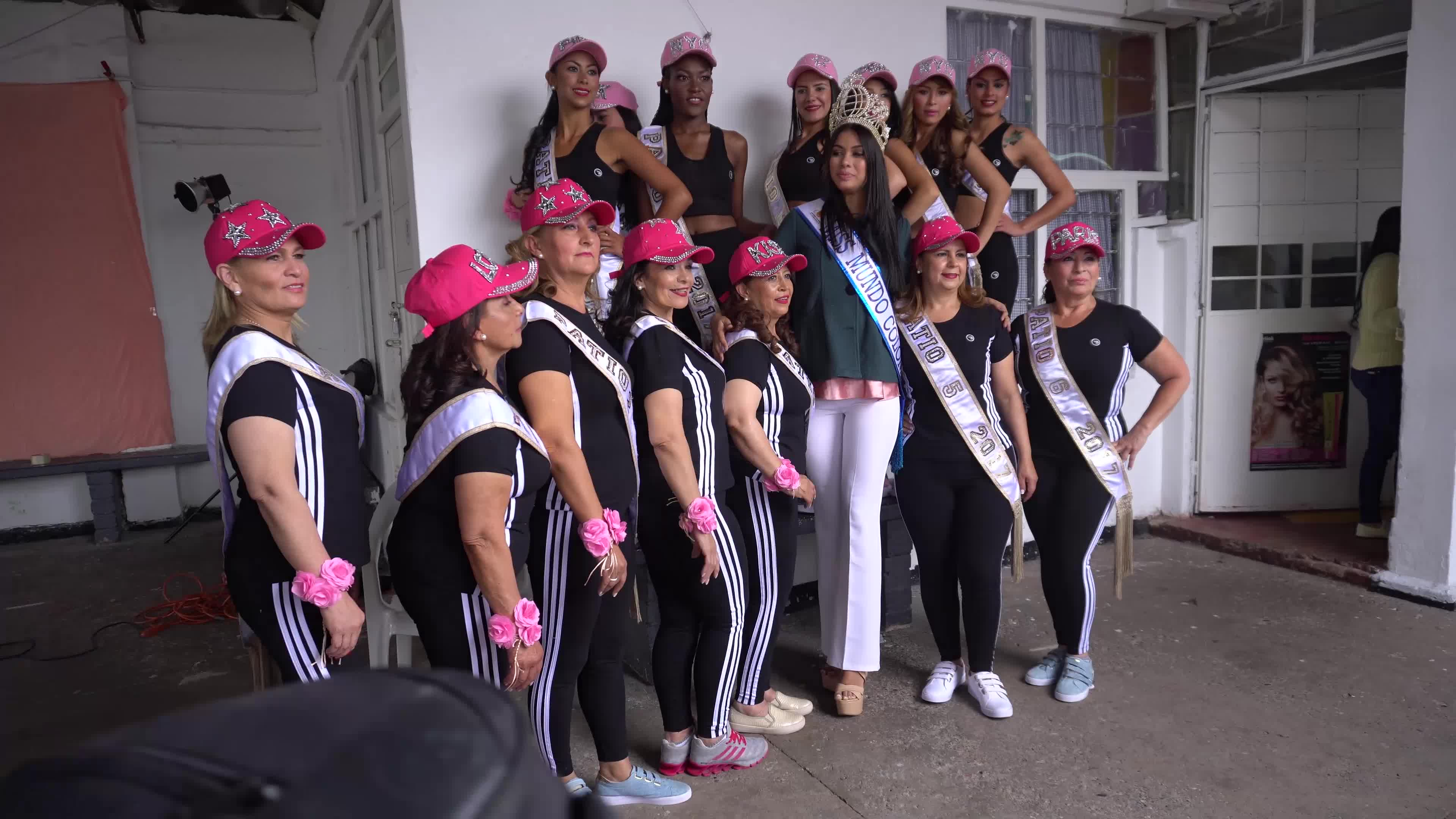 Beauty contest in a Colombian Prison