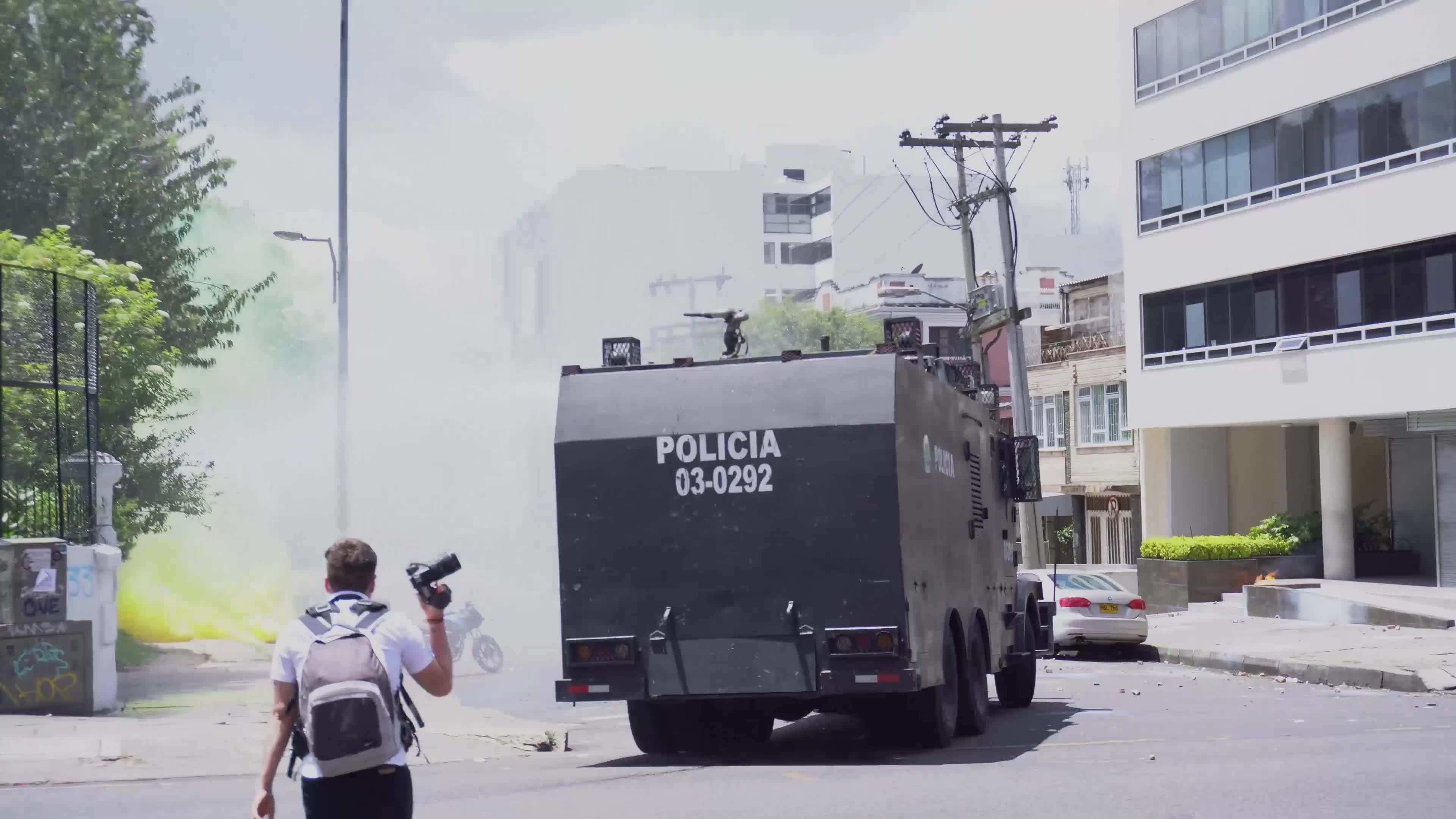Riots in the University of Bogota