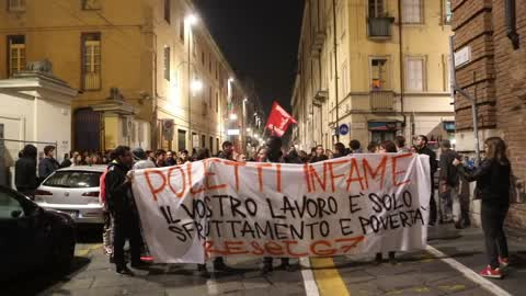 Protest against G7 meeting in Turin