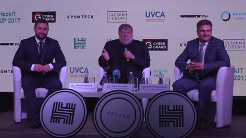 Co-Founder of Apple Steve Wozniak visited Kiev