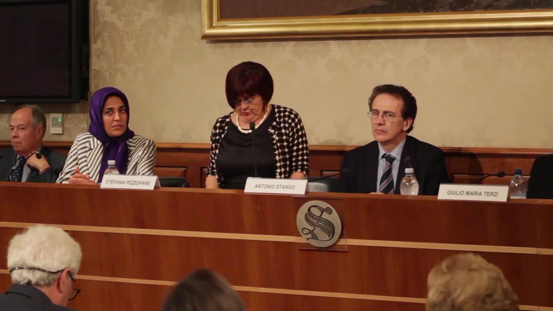 Italian Senate Conference to stop Death Penalty