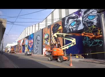 International festival of urban art in the city of Bogota