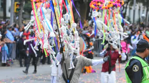 'Day of the Dead' Skulls Parade in Mexico City