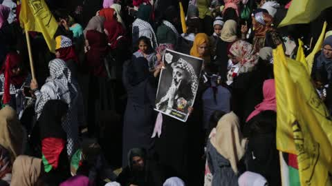 13th anniversary of the death of late Palestinian leader Yasser Arafat in Gaza City
