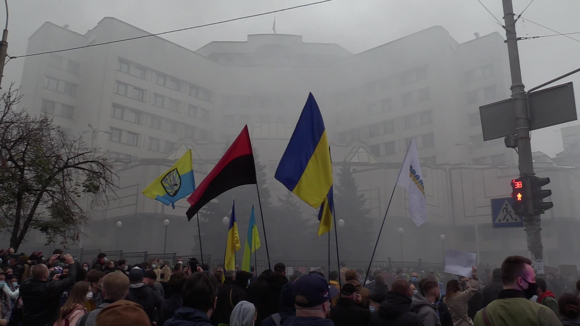 Rally against cancellation of criminal liability for inaccurate declarations of assets in Kyiv