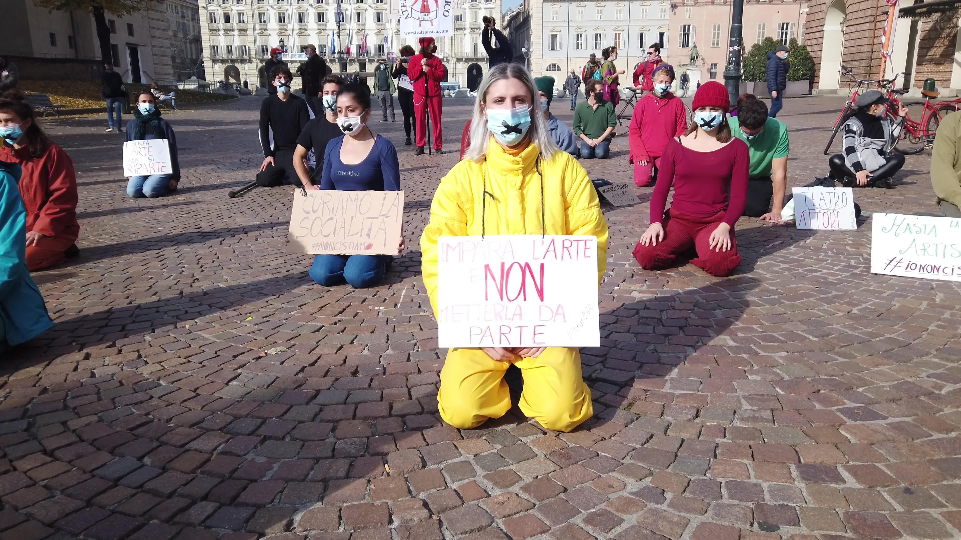 Protests In Italy After Lockdown Measures For Covid-19