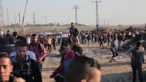 Clashes In Gaza