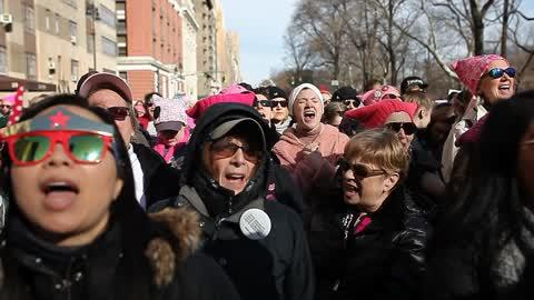 2018 Women's March In New York