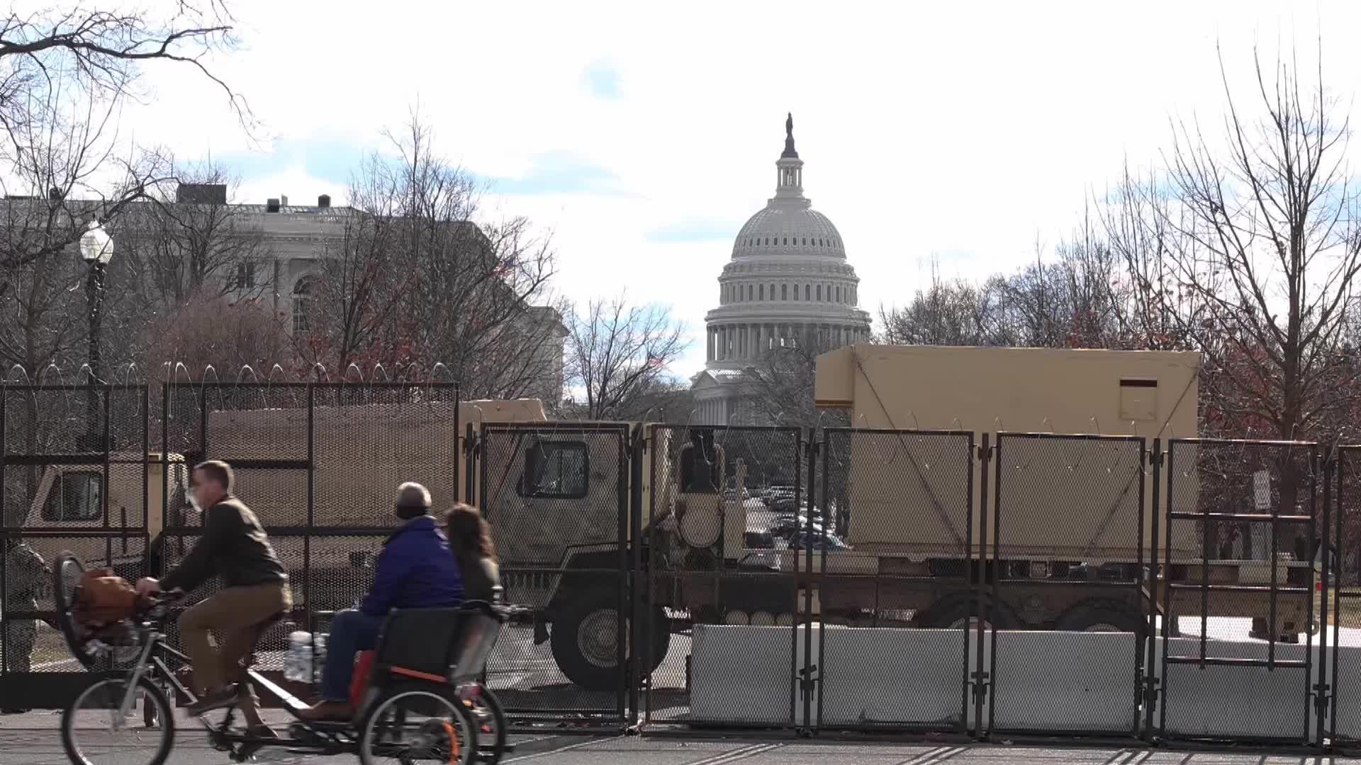Washington, D.C. lockdown ahead Presidential Inauguration