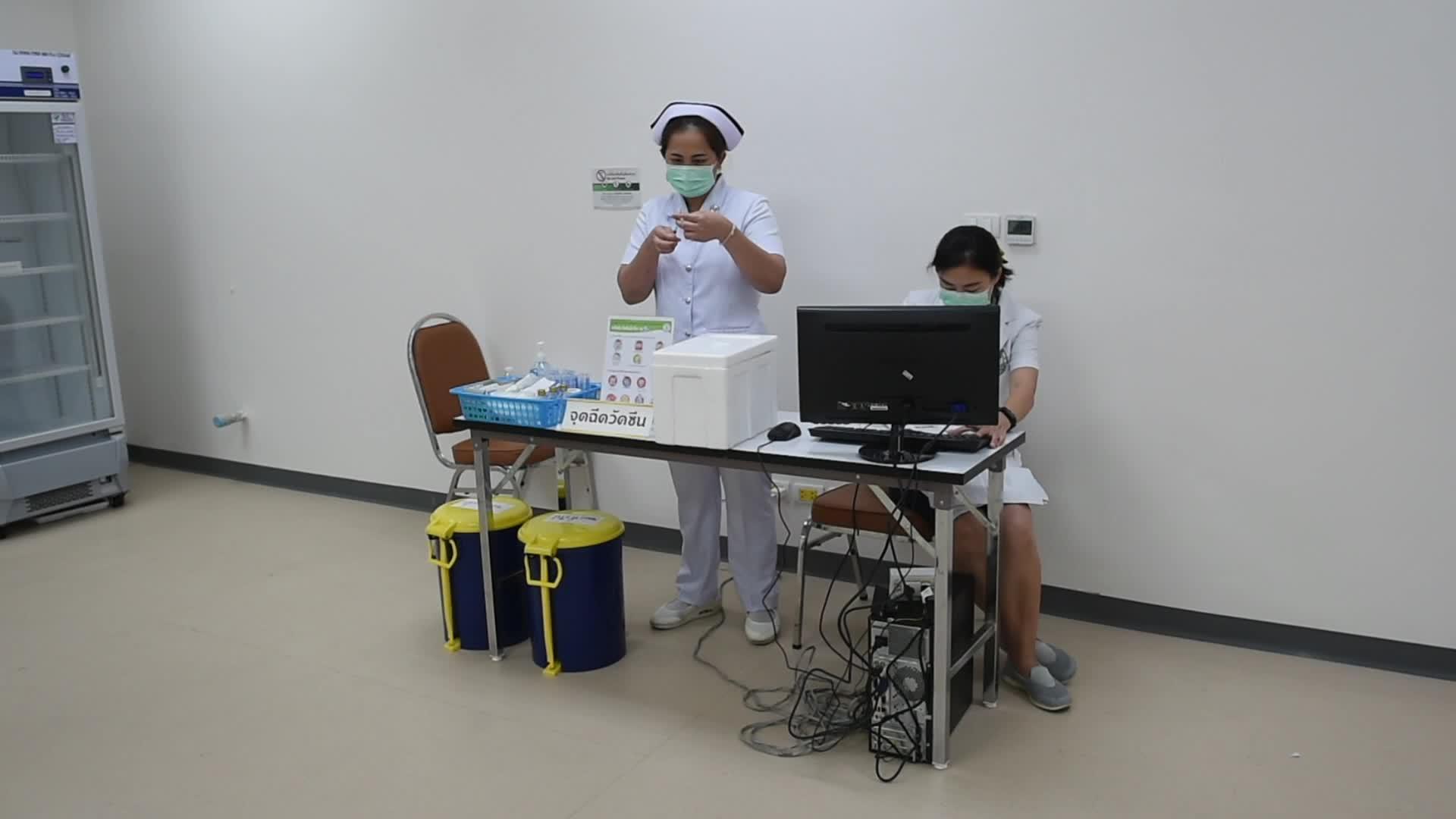 Thailand begins inoculation program against COVID-19
