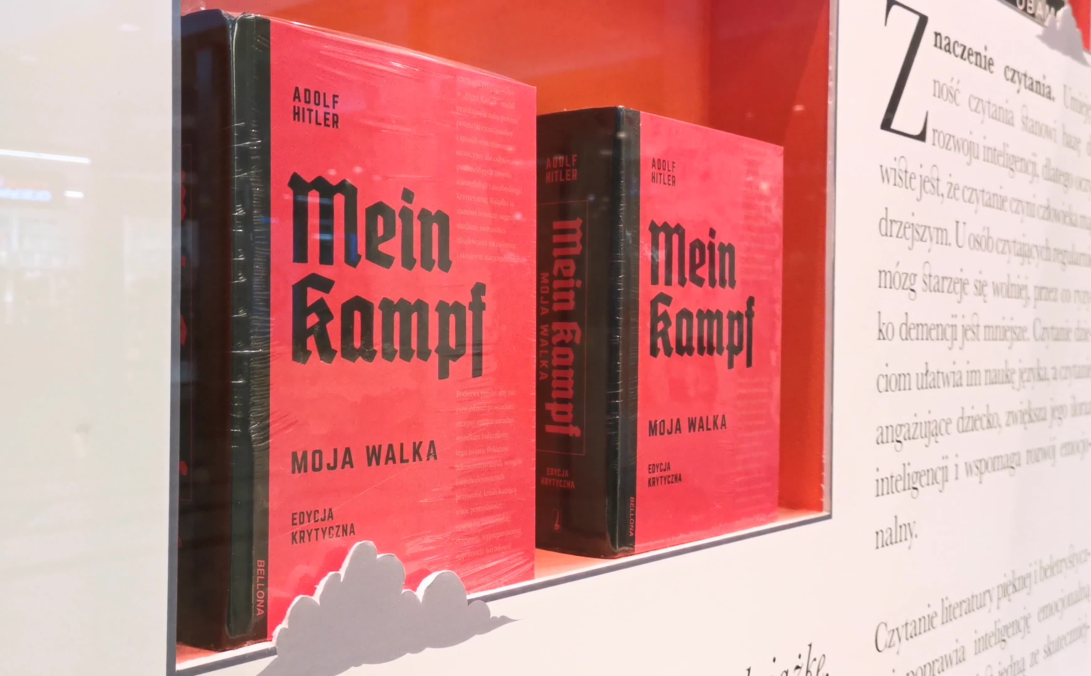 Mein Kampf Polish Edition In Bookstores