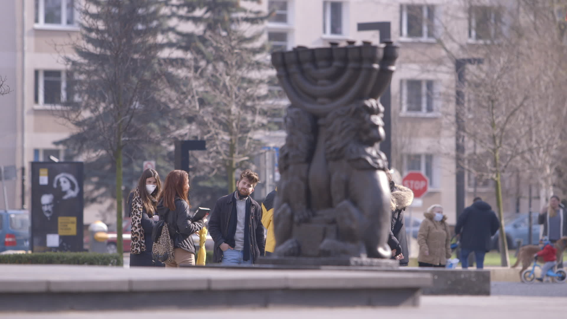 Warsaw Ghetto Uprising Monument ahead of 78th Anniversary