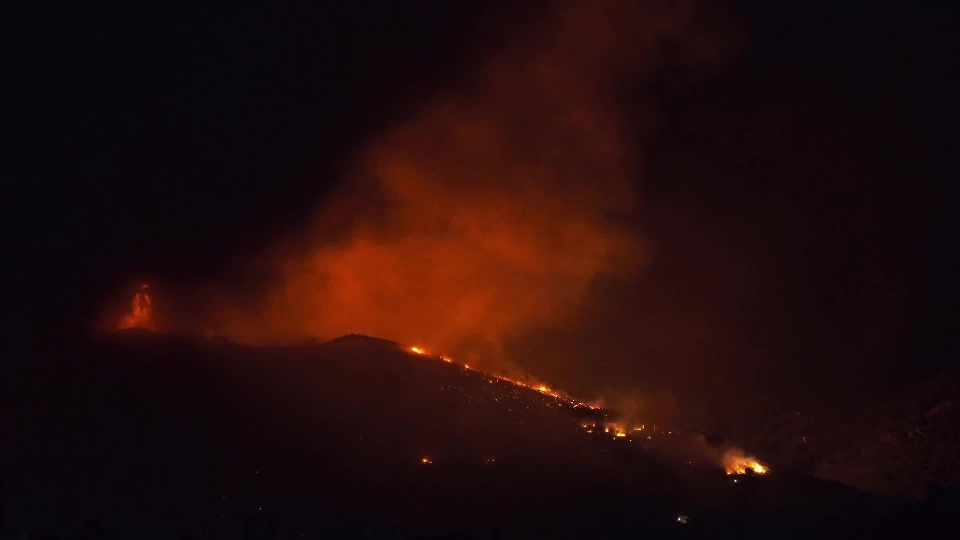 Wildfire In Pisa