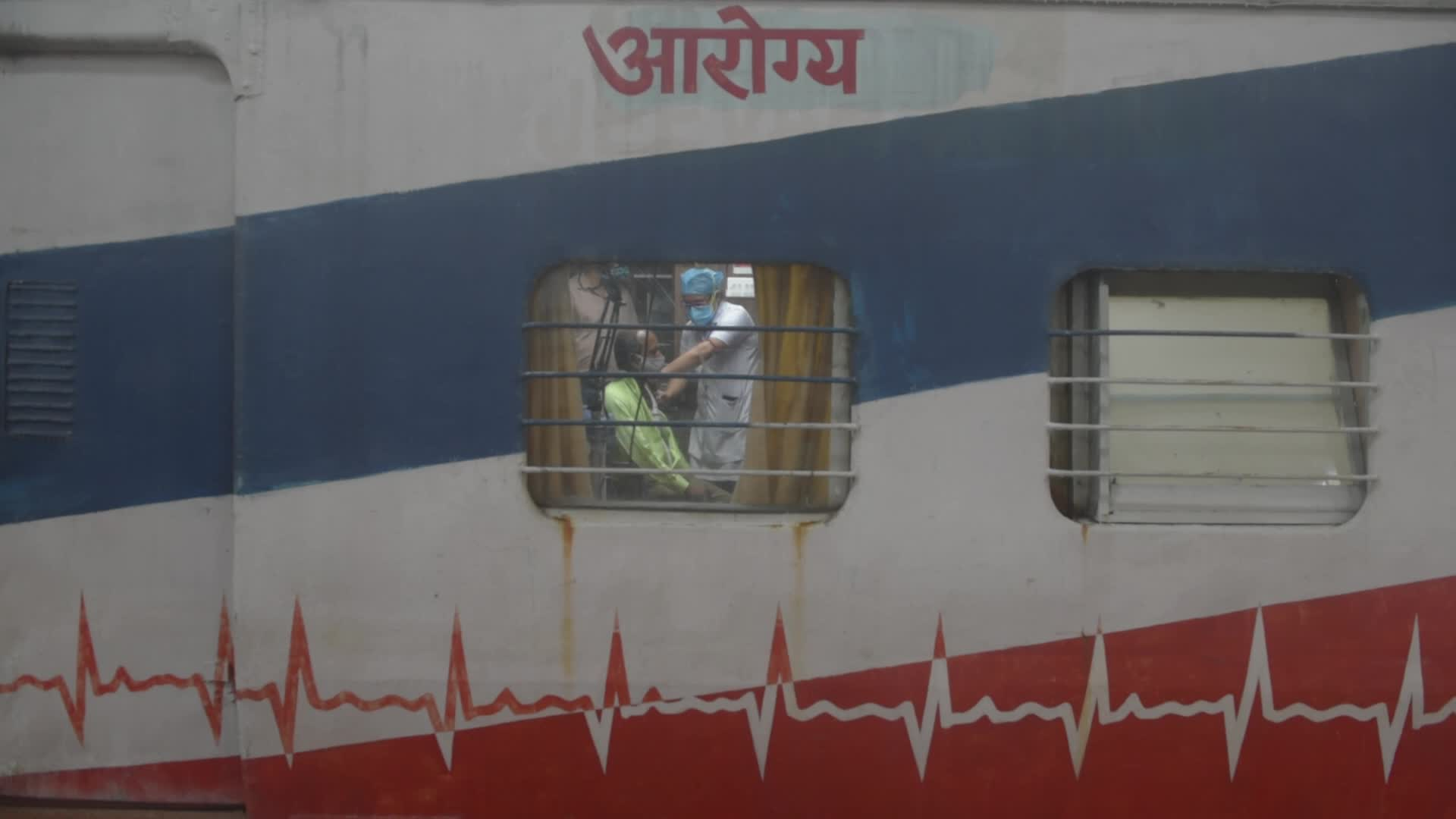 Vaccination On Railway Compartment