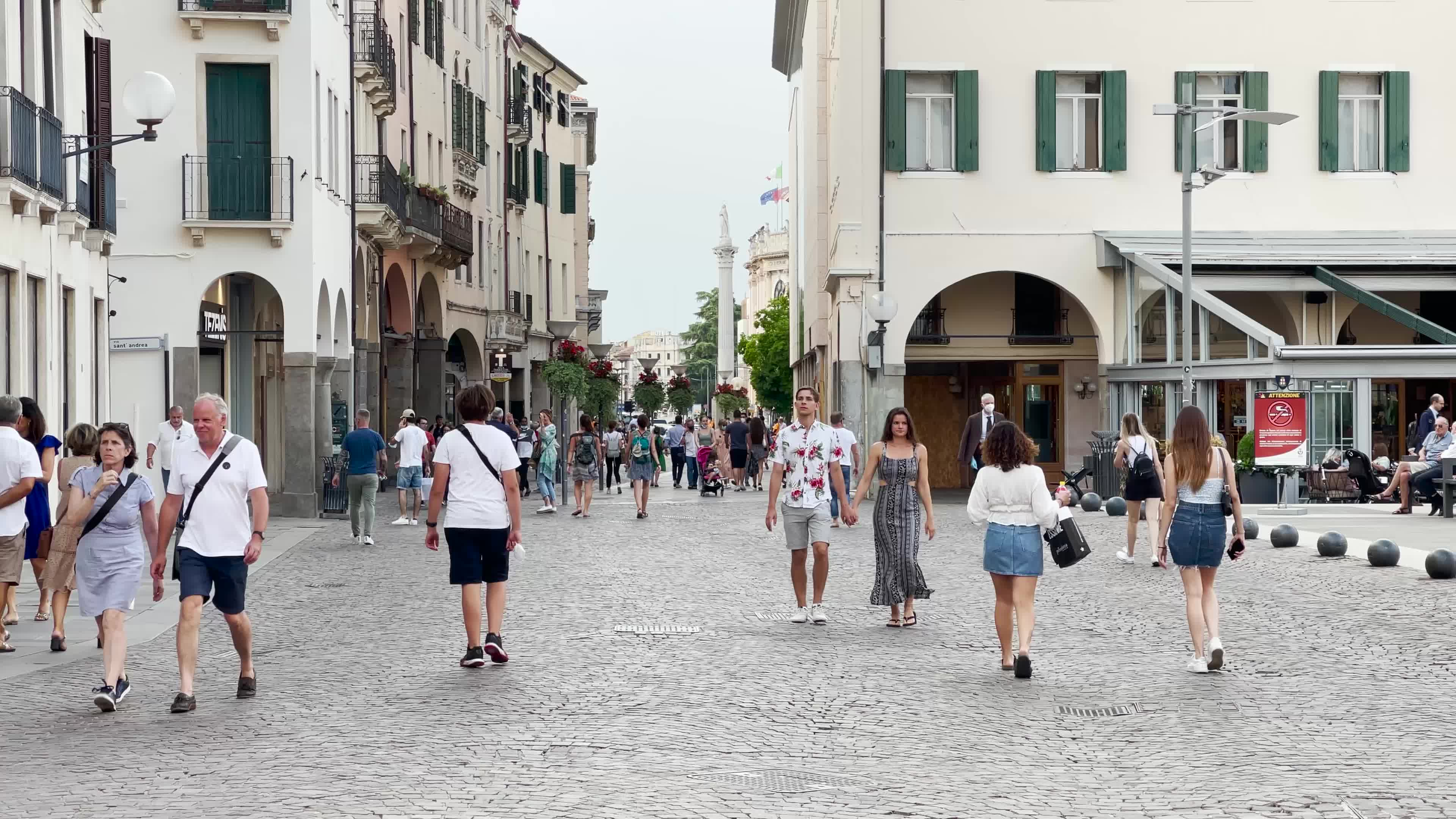 Daily Life In Padova, Italy amid the Covid-19 Pandemic