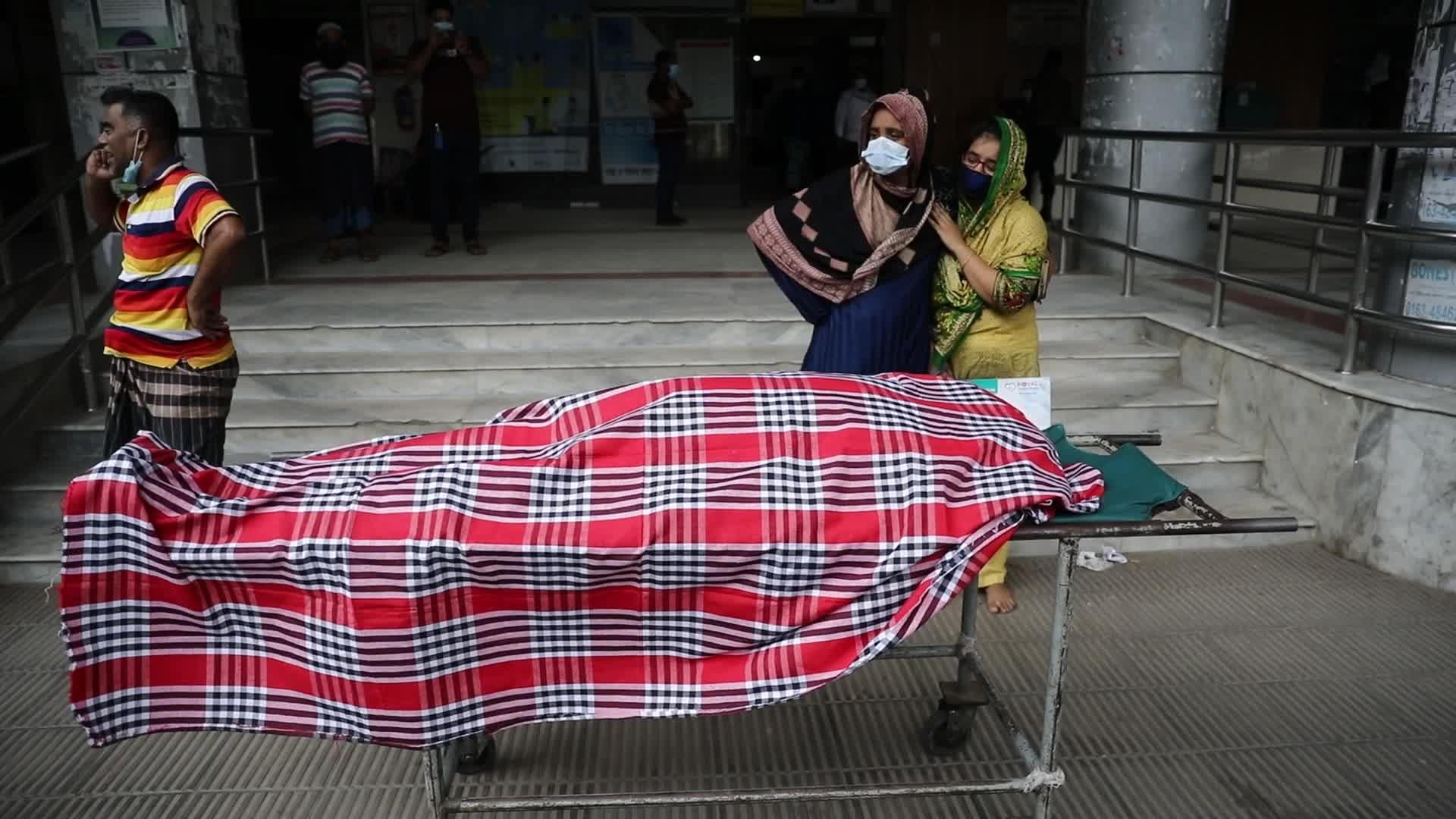 Coronavirus emergency in Dhaka, Bangladesh