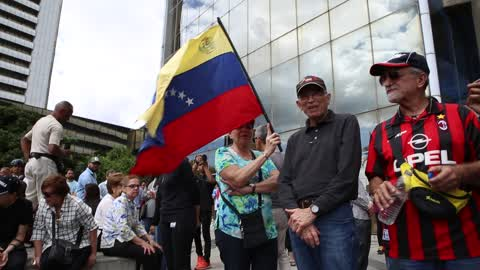 Oppostion Protest Against Maduro in Caracas