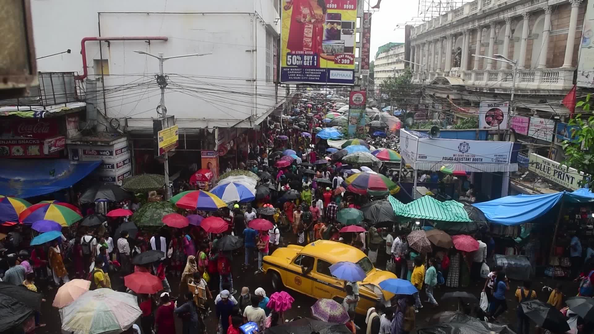 Daily life amid the Covid-19 pandemic in Kolkata, India