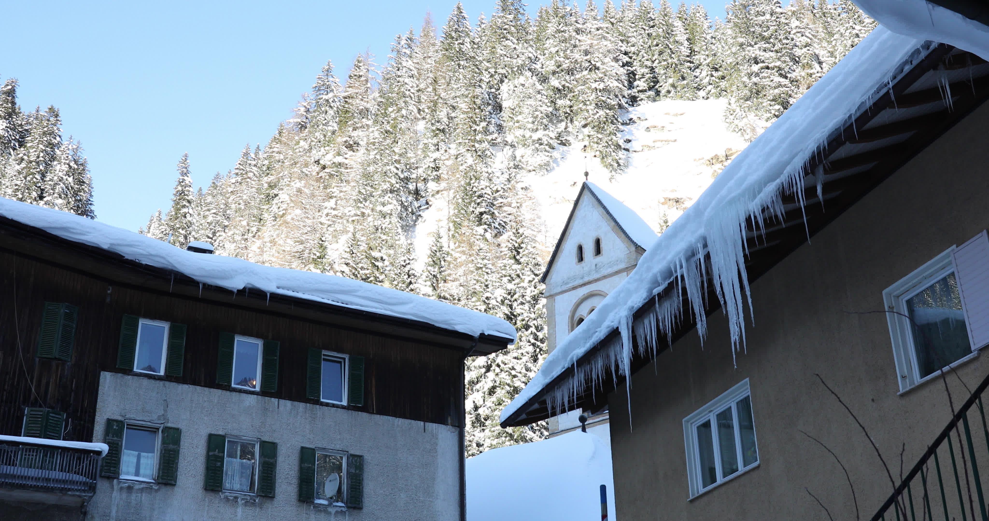 Snow In Brennero, Italy