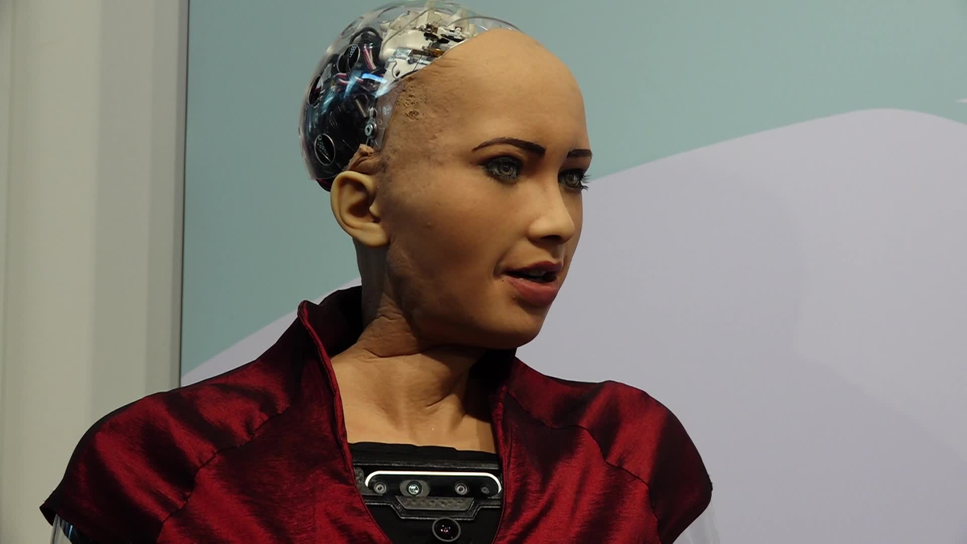 Sophia Humanoid Robot - Mobile World Congress