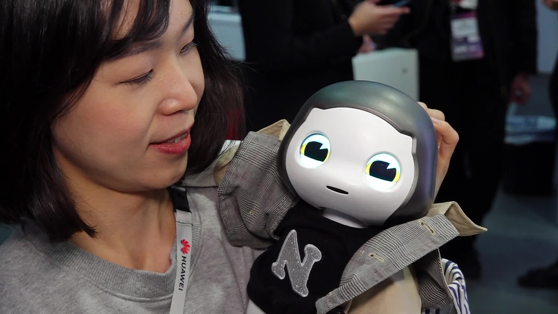 Liku Robot At Mobile World Congress